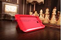 Фирменный чехол-футляр для Asus Fonepad Note FHD 6 ME560CG model K00G красный кожаный