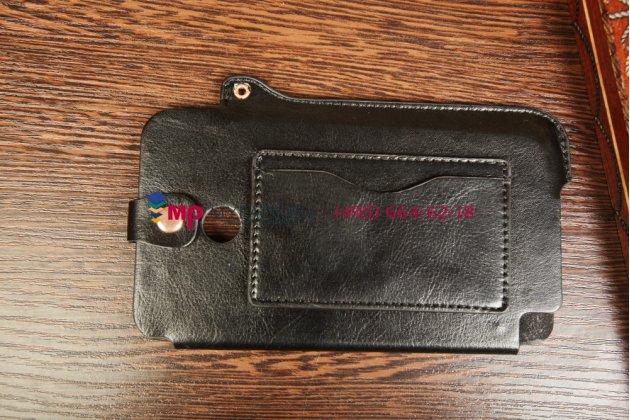 Чехол-обложка для asus fonepad note fhd 6 me560cg model k00g черный кожаный