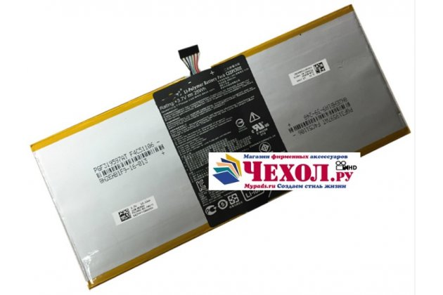 Аккумуляторная батарея 6520mah c12p1302 на планшет asus memo pad fhd 10 me302kl model k005+ инструменты для вскрытия + гарантия