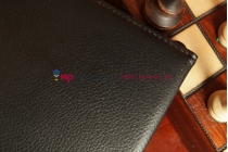 Чехол для Asus Memo Pad FHD 10 ME302C поворотный черный кожаный