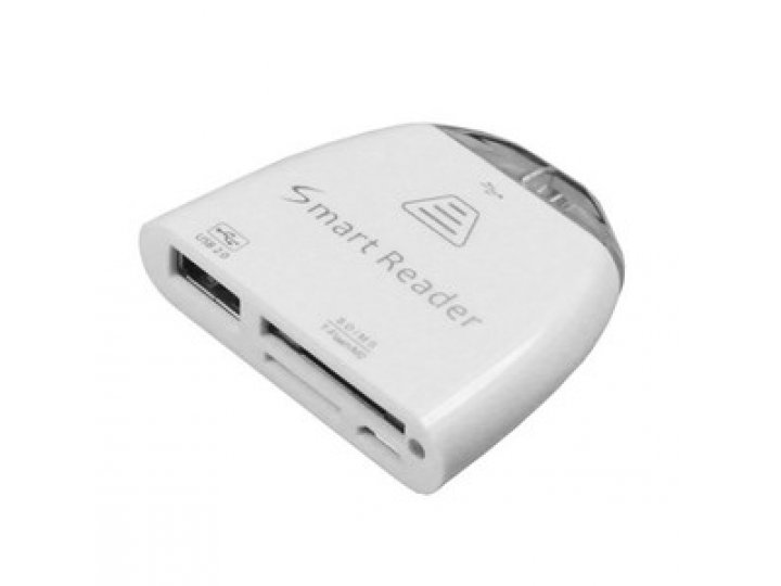 Usb-переходник + разъем для карт памяти для asus memo pad smart me301t/me301tg..