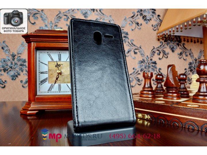 Вертикальный откидной чехол-флип для asus padfone 2 a68 черный из качественной импортной кожи