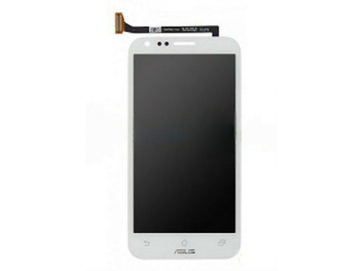 Lcd-жк-сенсорный дисплей-экран-стекло с тачскрином на телефон asus padfone 2 a68 белый и инструменты для вскры..