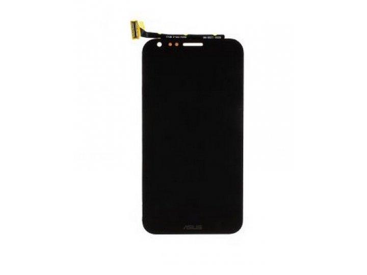 Lcd-жк-сенсорный дисплей-экран-стекло с тачскрином на телефон asus padfone 2 a68 черный и инструменты для вскр..