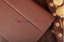"""Чехол-обложка для Asus Padfone 3 Infinity A80 с визитницей и держателем для руки коричневый натуральная кожа """"Prestige"""" Италия"""