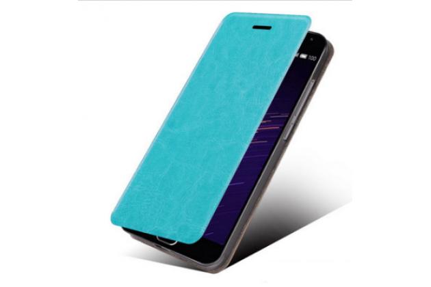 """Чехол-книжка для телефона asus padfone 3 infinity a80 синий натуральная кожа """"prestige"""" италия"""