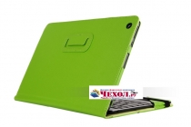 Чехол для ASUS Transformer Book T100 Chi / T1 Chi зеленый кожаный