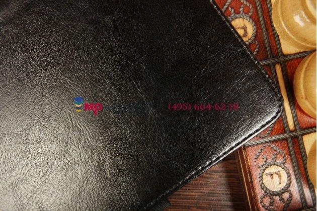 Чехол-обложка-книжка для asus transformer book t100ta model b045 чёрный  кожаный