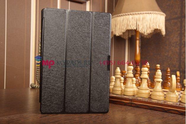 """Умный чехол самый тонкий в мире для asus transformer book t100ta """"il sottile"""" черный пластиковый италия"""