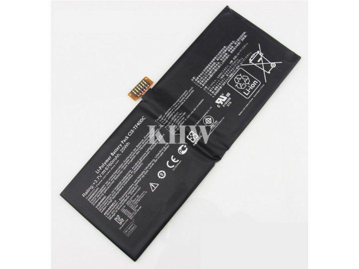 Аккумуляторная батарея 6760mah c12-tf400c на планшет  asus vivotab smart me400c/me400cl + инструменты для вскр..