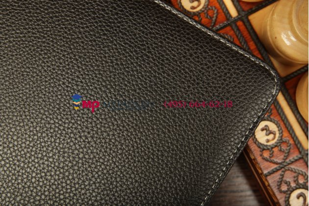 Чехол со съёмной bluetooth-клавиатурой для asus vivotab smart me400c/me400cl черный кожаный + гарантия