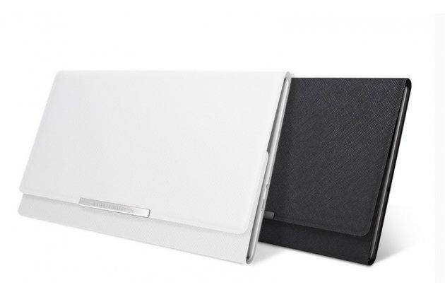Чехол-книжка zen clutch (z380 series) с подставкой и карманом для визитниц  для asus zenpad 8.0 z380 z380kl z380c z380knl p024 черного цвета