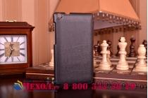 """Фирменный умный чехол самый тонкий в мире для планшета Asus ZenPad C 7.0 Z170C/Z170CG/Z170MG """"Il Sottile"""" черный кожаный"""