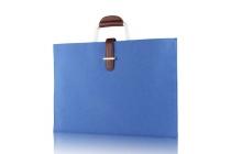Чехол-сумка-бокс для ASUS Transformer 3 Pro T303UА (GN052T) 12.6 с отделением для дополнительных аксессуаров из высококачественного материала голубого цвета
