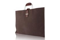 Чехол-сумка-бокс для asus transformer 3 t305ca (gw014t) 12.6 с отделением для дополнительных аксессуаров из высококачественного материала коричневый