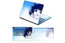 Защитная пленка-наклейка с 3d рисунком на твёрдой основе, которая не увеличивает планшет в размерах для asus transformer 3 t305ca (gw014t) 12.6 тематика девочка
