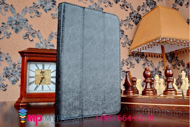 Чехол обложка с подставкой для asus fonepad 7 fe171mg черный кожаный