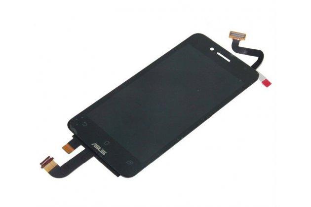 Lcd-жк-сенсорный дисплей-экран-стекло с тачскрином на телефон asus padfone mini 4.3 черный + гарантия