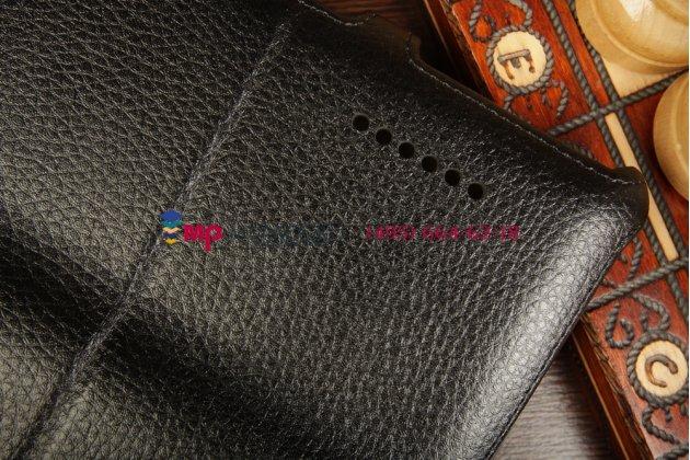 """Чехол для asus padfone infinity new a86 t004 с мульти-подставкой и держателем для руки черный кожаный """"deluxe"""" италия"""