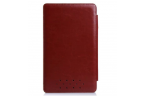 Фирменный чехол-футляр для Asus Transformer Book T3 Chi / T300 Chi с отделением под клавиатуру /док станцию коричневый кожаный