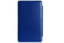 Чехол-футляр для asus transformer book t3 chi / t300 chi с отделением под клавиатуру /док станцию синий кожаный