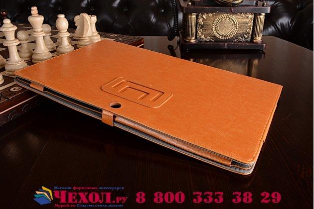 Чехол для asus transformer book t300la коричневый  кожаный