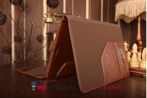 Чехол для Asus Transformer Pad TF103CG K018 Mobile Dock Keyboard с отделением отсеком для клавиатуры коричневый