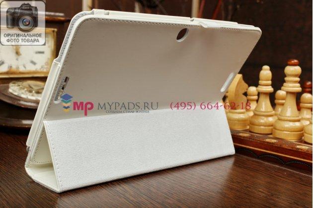 Чехол-книжка для asus transformer pad tf103cg-1b055a model k010 белый кожаный