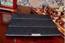 """Фирменный умный чехол самый тонкий в мире для ASUS Transformer Pad TF303CL LTE K014 """"Il Sottile"""" черный пластиковый"""