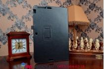 Чехол обложка для asus transformer book t200ta черный кожаный