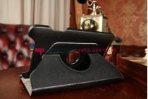 Чехол для asus vivotab note 8 m80ta b04g поворотный роторный оборотный черный кожаный