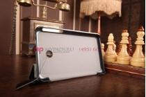 """Фирменный умный чехол самый тонкий в мире для Asus Fonepad 7 FE170CG Model K012 """"Il Sottile"""" черный пластиковый Италия"""