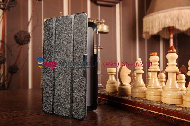 """Умный чехол самый тонкий в мире для asus fonepad 7 fe170cg model k012 """"il sottile"""" черный пластиковый италия"""