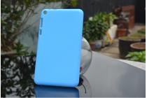 """Фирменная ультра-тонкая полимерная из мягкого качественного силикона задняя панель-чехол-накладка для Asus Fonepad 8 FE380CG/FE380CXG (K016)"""" голубая"""