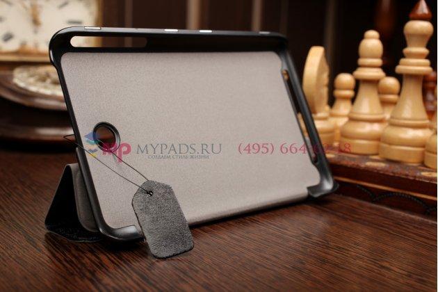 """Умный чехол самый тонкий в мире для asus memo pad 7 me176cx-1a033a model k013 """"il sottile"""" черный пластиковый италия"""