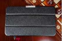 """Умный чехол самый тонкий в мире для asus memo pad 8 fhd me581cl k015""""il sottile"""" черный пластиковый"""