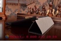 """Умный чехол самый тонкий в мире для планшета asus zenpad 7.0 z370c/z370cg """"il sottile"""" черный кожаный"""