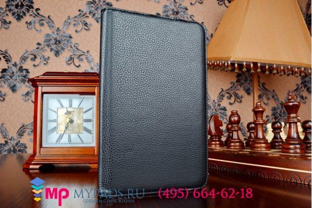 Чехол для asus memo pad 7 me175cg model k00z поворотный роторный оборотный черный кожаный