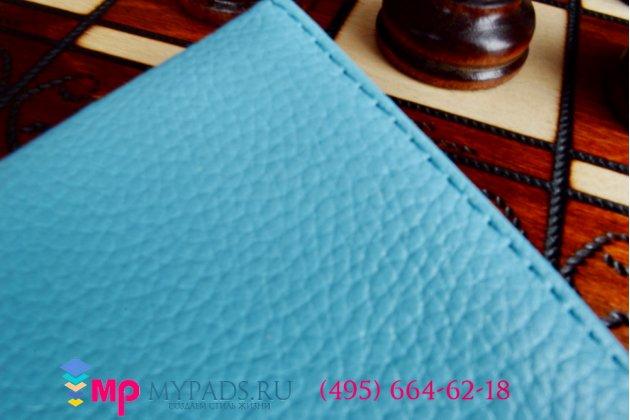 Чехол для asus memo pad 7 me175cg model k00z поворотный роторный оборотный голубой кожаный