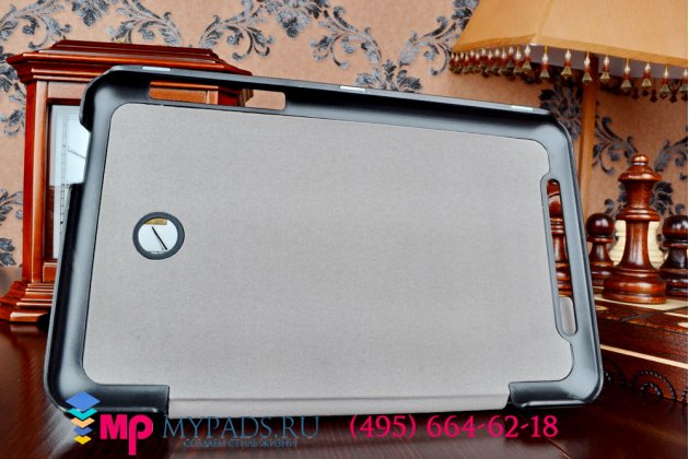 """Умный чехол-книжка самый тонкий в мире для asus memo pad 7 me175cg model k00z """"il sottile"""" изумрудный пластиковый"""