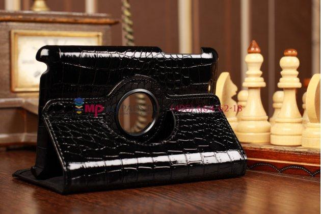 Чехол для asus nexus 7 1-го поколения 2012 кожа крокодила черный