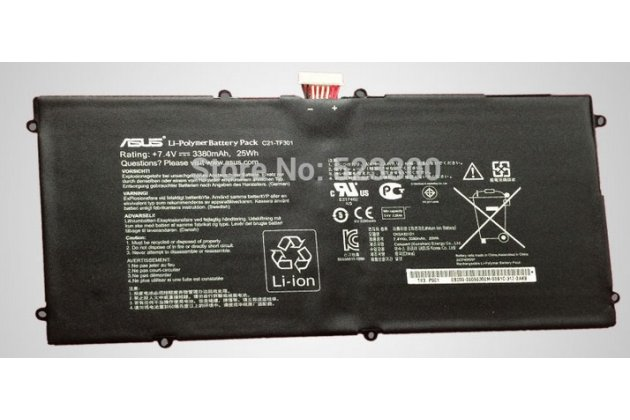 Аккумуляторная батарея 3380mah c21-tf301 на планшет asus transformer pad infinity tf700t/tf700kl + инструменты для вскрытия + гарантия