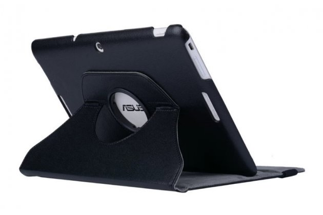 Чехол для планшета asus transformer pad tf103c/tf103cg k018 поворотный роторный оборотный черный кожаный