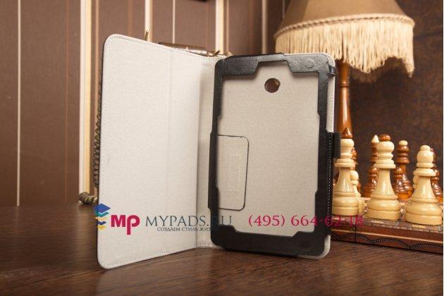 Чехол обложка для asus fonepad 7 me175cg dual sim model k00z черный кожаный