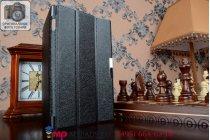 """Фирменный умный чехол-книжка самый тонкий в мире для Asus Memo Pad 7 ME572C/ME572CL K00R """"Il Sottile"""" черный пластиковый"""