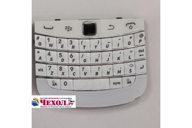 Оригинальная клавиатура для замены родной на blackberry bolt 9900 (английский язык) белая - гарантия