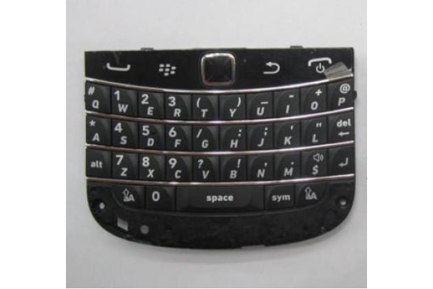 Оригинальная клавиатура для замены родной на blackberry bolt 9900 (английский язык) черная + гарантия