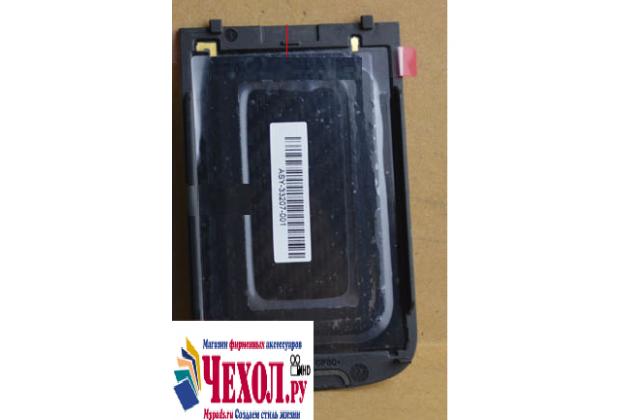 Родная оригинальная задняя крышка-панель которая шла в комплекте для blackberry bolt 9900 черная