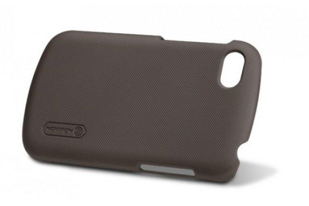 Задняя панель-крышка-накладка из тончайшего и прочного пластика для blackberry q10 черная