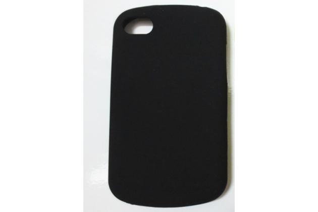 Силиконовый  чехол-пенал для blackberry q10 с 3d клавиатурой и защитой кнопок от пыли и воды черный